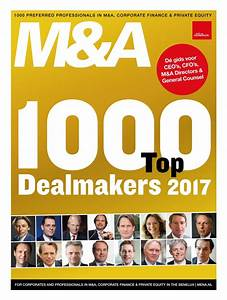 Who's who in M&A en Private Equity 2017 by Willem van ...