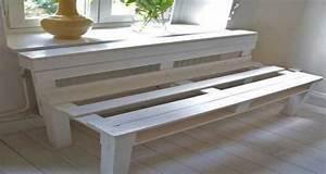 Comment Faire Un Lit En Palette : diy d co pour d monter une palette bois pour faire un meuble ~ Nature-et-papiers.com Idées de Décoration