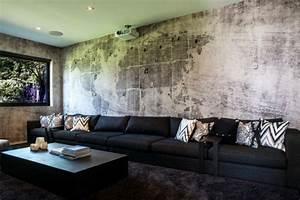 Wohnzimmer Ideen Wandgestaltung : ideen w nde gestalten ~ Orissabook.com Haus und Dekorationen