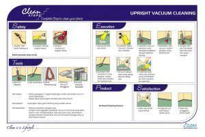 clean steps housekeeping upright vacuum cleaning iclean