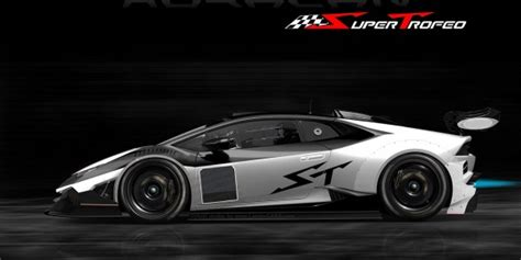 huracan lp  super trofeo race car development