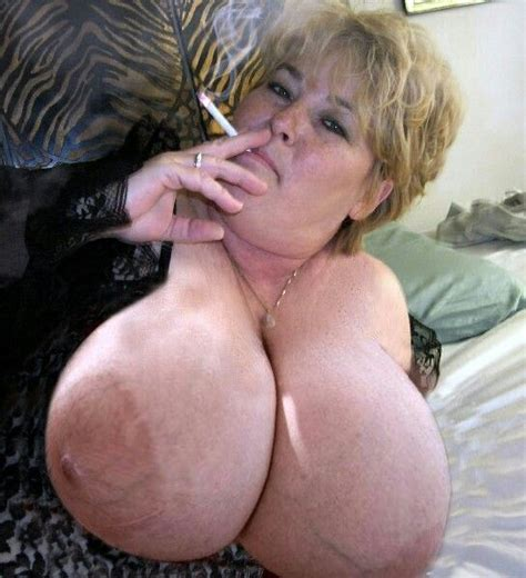 Skinny Blonde Mom Big Tits