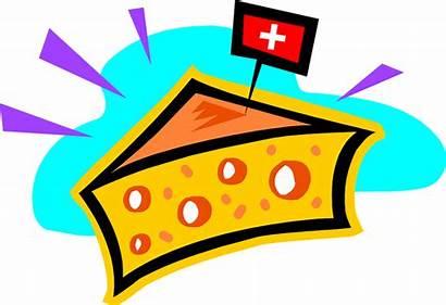 Cheese Swiss Clipart Switzerland Illustration Transparent Flag