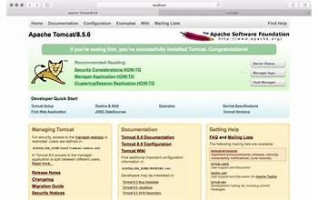 Apache Tomcat screenshot #1