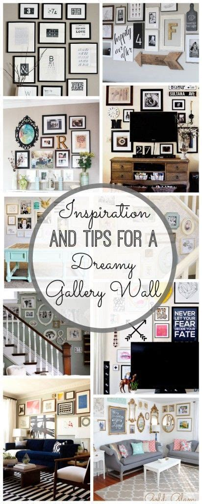 gallery wall inspiration  tips home decor home