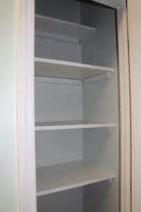 Pantry Closet Shelves DIY