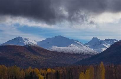 Chugach Mountains Mountain Range Alaska Doug Brown