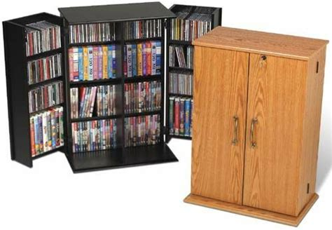 Dvd Closet Storage by Cd Dvd Storage Cabinet W Lock 376 Cd 192 Dvd New Ebay