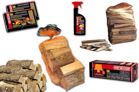 ceppo pulisci camino kit completo 6 pz per camino stufa accendifuoco legna da