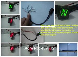 2016 New Hot Sale Free Shipping Red Led Universal Digital Gear Indicator Display Shift Lever