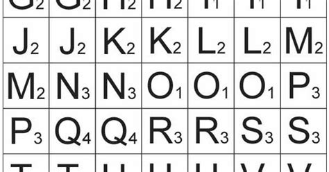 15 Best Images Of Printable Scrabble Tiles Worksheet