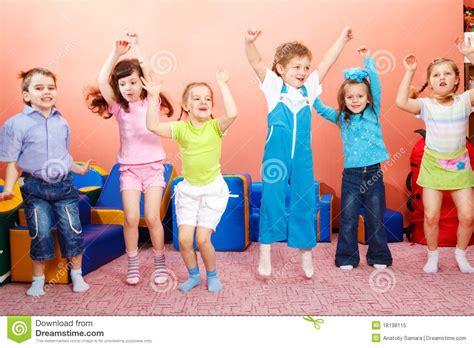 preschoolers jumping royalty free stock photo image 629 | preschoolers jumping 18198115