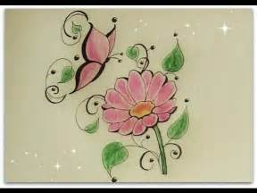 butterfly flower how to draw flower with butterfly flower for
