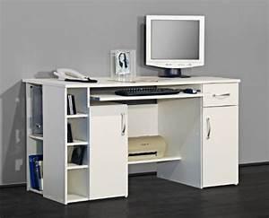 Schreibtisch Günstig Kaufen : computertische g nstig kaufen 4129 computertisch schreibtisch pc tisch in wei ~ Orissabook.com Haus und Dekorationen