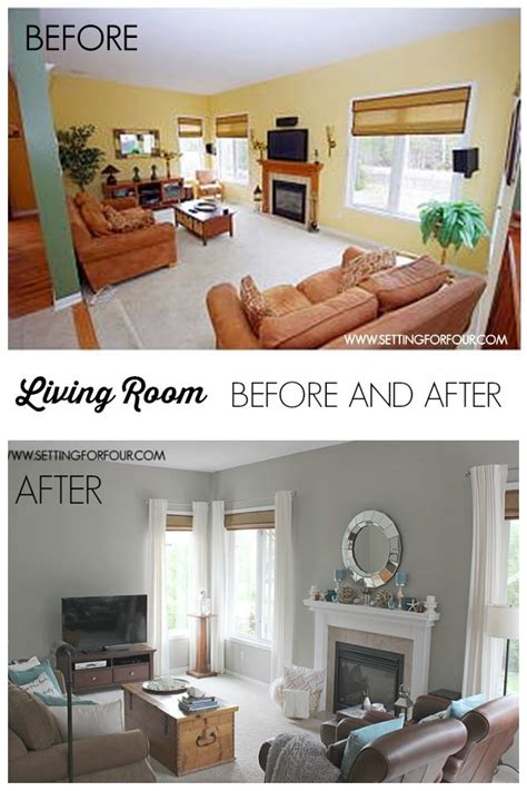 quickandeasy living room   makeover