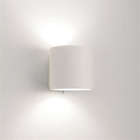 astro lighting brenta single light switched ceramic wall