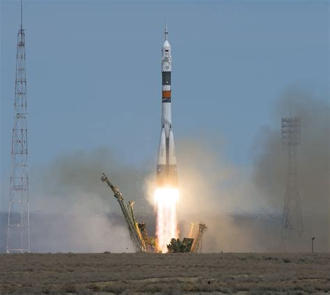 Flawless Soyuz Launch Places U.s.-russian Crew Duo On