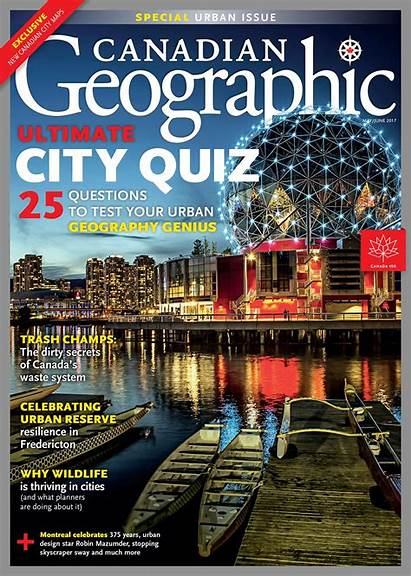 Issues Quiz Canadian Magazine Geographic Past Ultimate