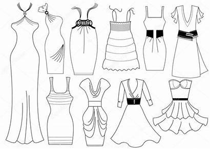 Dresses Illustration Vector Geraktv Depositphotos