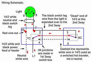 Electrical - How Do I Wire A Three Way Switch With Two Lights