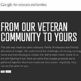 Google for Veterans Helps Soldiers Find Jobs, Connect ...
