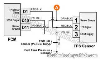 similiar diagram of throttle positioning sensor location forenza throttle position sensor tps wiring diagram 1997 1998 1 6l honda