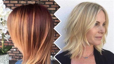 easy medium length haircuts  women
