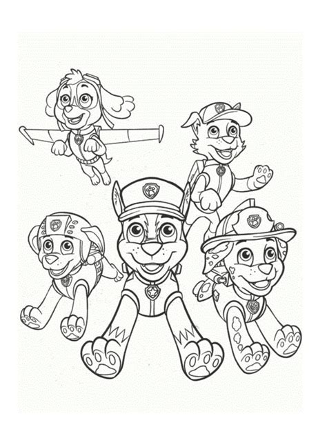 jeux sur la cuisine coloriage pat patrouille 30 dessins à imprimer