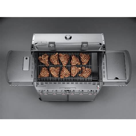 weber summit s 670 weber summit 7370001 s 670 stainless steel 769 square inch