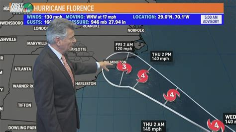 College football schedule changes due to Hurricane ...