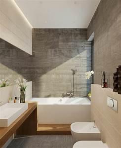 Moderne Wandgestaltung Bad : modernes badezimmer ideen zur inspiration 140 fotos ~ Sanjose-hotels-ca.com Haus und Dekorationen