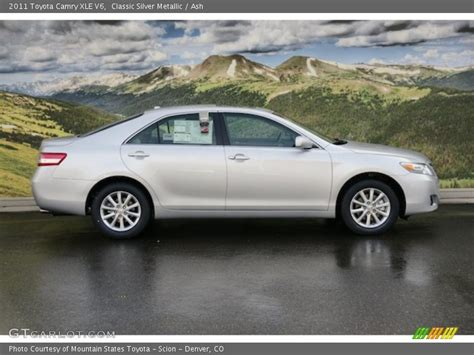2011 Toyota Camry V6 by 2011 Camry Xle V6 Classic Silver Metallic Photo No