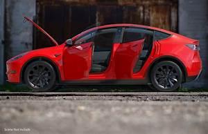 Artist renders Tesla Model Y exterior and interior with the utmost details   Tesla model, Tesla ...