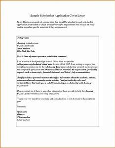 5 how to write a scholarship cover letter lease template for How to make a cover letter for a scholarship application