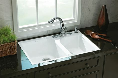 Dropin Kitchen Sink A Perfect Fit For Tile Countertop