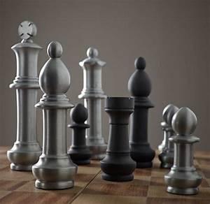 Giant, Aluminum, Chess, Set