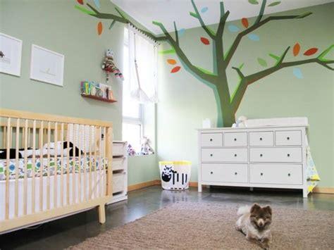 Wandgestaltung Für Kinderzimmer Streichen by Niedliche Babyzimmer Wandgestaltung Inspirierende