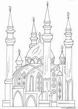 Coloring Pages Islamic Mosque Muslim Arabic Masjid Alphabet Quran Ramadan Raskraski Islam Colouring Mosques Draw Template Children Jawaher Books Patterns sketch template