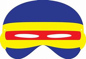 x men inspired masks With cyclops mask template
