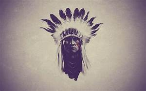 Indian Feathers native american western wallpaper ...