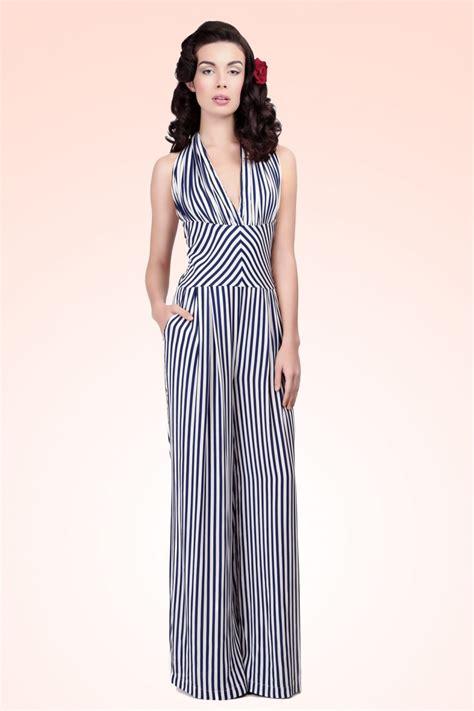 margot striped jumpsuit