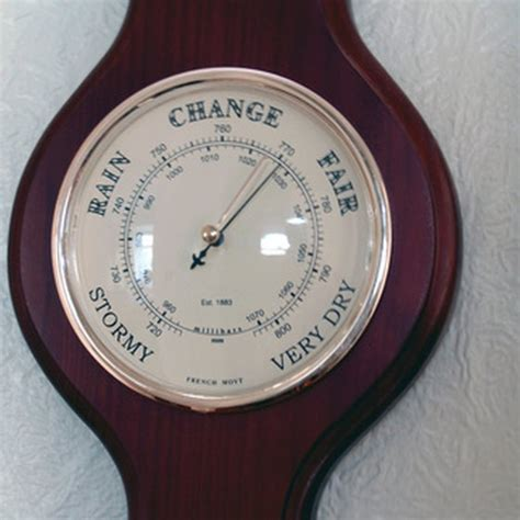 pressure barometric changes effects physical inches air measure barometers types emotional affect living healthy ehow articles related measuring instruments