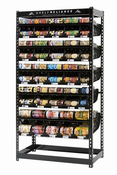 Reliance Shelf System Pantry Ended Storage Rotation