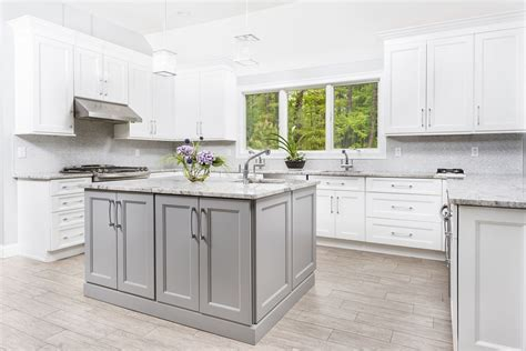power  grey kitchens cabinets