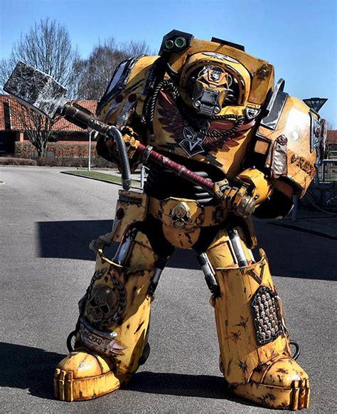 awesome warhammer 40k costume mightymega
