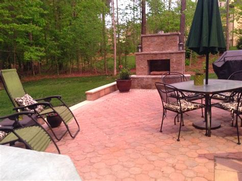 in the house diy paver patio and