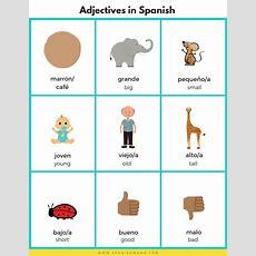 Adjectives In Spanish  Printable Lesson For Kids  Bilingual Kidspot
