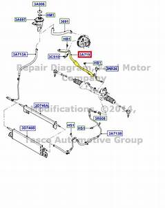 Brand New Oem Power Steering Hose 2004