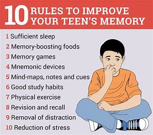 Tips to improve child memory and tricks to study smart ...