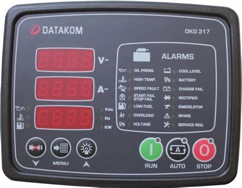 datakom dkg 317 mpu manual and remote start generator panel buy ats amf avr